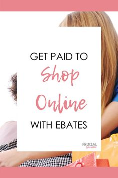 Need some extra money? Struggling to make ends meet. Get Paid to Shop Online with Ebates now! Make Money Fast, Ways To Save Money, Make Money From Home, Money Saving Tips, Make Money Online, Money Today, Get Paid To Shop, Money Shop, Extra Money