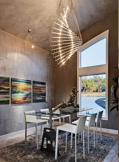 Bon This Sleek Dining Room Is An Award Winner From Austin Interior Design Firm  Chelsea + Remy