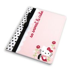 Hello Kitty; So Sweet & Cute Notebook. Nice for a child's folder
