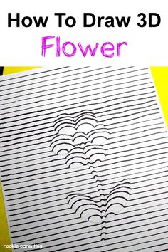 Kids will love to learn this 3D drawing trick