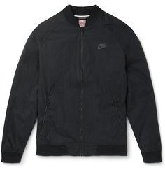 Nike - Plan-Cotton Shell Varsity Jacket