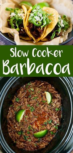 Slow Cooker Barbacoa Recipe - No. 2 Pencil This Slow Cooker Barbacoa Recipe has become one of our family favorites. Tender fall apart beef that simmers all day long in flavorful Mexican spices. If you are a fan of Chipotles Barbacoa recipe, you are Crock Pot Cooking, Cooking Recipes, Healthy Recipes, Crockpot Meals, Quick Recipes, Good Crock Pot Recipes, Shredded Beef Tacos Crockpot, Party Crockpot Recipes, Roast Beef Tacos