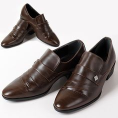 New Handmade Brown Deluxe Dress Casual Formal Loafers Mens Shoes