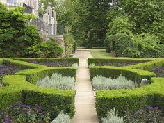 Clipped Boxwood Garden