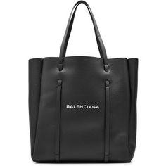 Balenciaga Large Printed Leather Tote