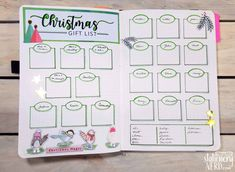 ideas list Merry Christmas Bullet Journal Ideas {Stress Free Planning for December} Christmas Gift Shopping lIst Bullet Journal Spread Bullet Journal Gift List, Bullet Journal Christmas, December Bullet Journal, Bullet Journal Spread, Bullet Journal Layout, Bullet Journal Inspiration, Journal Ideas, Bullet Journals, Bullet Journal Birthday Tracker