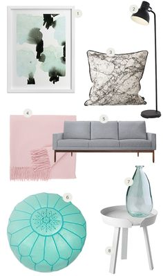 Recreate+This+Room:+Pastel+Living+Room+by+Annie+Montgomery+for+Julep