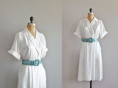 vintage 1980s Temps Clair shirtdress
