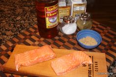 Recipes We Love: Cedar Plank Brown Sugar Salmon ... simple, sweet, smokey :)   OH MY THIS IS SO GOOD you will want it again and again.