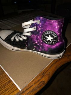 9236ea1ed60945 High Top Converse Size 7 Handmade  fashion  clothing  shoes  accessories   unisexclothingshoesaccs