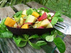 Recette Paléo : salade avocat / patate douce Paléo