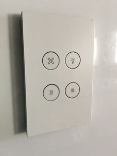 Saturn Light switches by Clipsal
