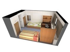Furniture included: bed, desk, chair and clothing storage. Queen's University, University Of Alberta, First Year Student, Double Room, Clothing Storage, Desk Chair, Bunk Beds, Exterior Design, Dorm