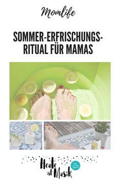 (Anzeige) Nachmittags kann ich gut eine Pause gebrauchen. Das geht wunderbar, indem ich mich raus setze, ein Fußbad nehme und mich mit der Fußcreme von Dr. Hauschka verwöhne. Dazu gibts eine leckere Zitronenlimonade oder einen Zitronen-Buttermilch-Drink #anzeige #drhauschka #fußbad #rezept #zitronensirup #buttermilch #schönefüße Doula, Pause, Joy, Foot Soak Recipe, Music, Parenting Books, Outdoor Games, Dear Mom, Recipes For Children