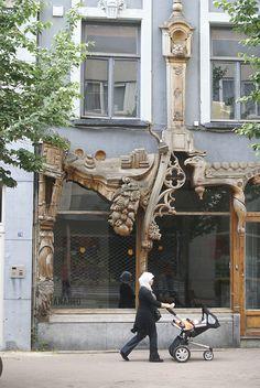 Art Nouveau, Antwerp City, Belgium