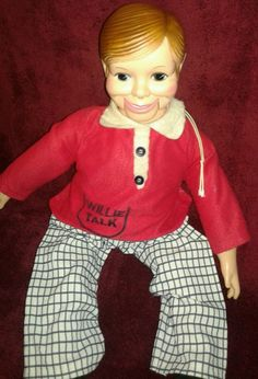 Vintage Willie Talk Ventriloquist Boy Doll 1960's W M Steig -  Horsman (H3) #Dolls