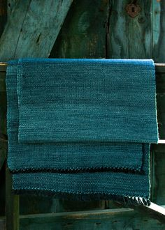 deep teal blue and green