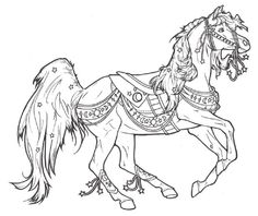 Carousel Horse Celestial By ReQuay On DeviantART