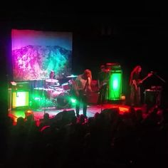 From Beyond, The Sword W/ Purson, Purson & The Sword performed on Thursday at Fete