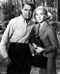 Cary Grant and Eva Marie Saint in the Movie 'North by Northwest' Photo