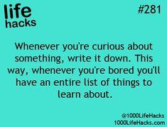 Life Hack #281