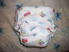 Simple Diaper-Sewing Tutorials: Amazon Contour Fitted Diaper #1