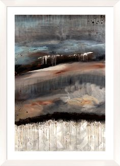 Abstract Giclée Framed Painting Print