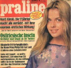 Nastassja Kinski covers Praline Magazine ( Germany) 19