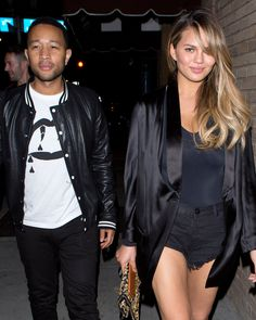 Chrissy Teigen Doesn't Care What You Think of Her Post-Pregnancy Body