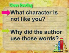 Reading Sage: Close Reading Task Cards | Close Reading Inference