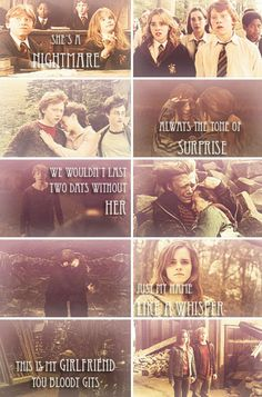 Ron and hermione harry potter couples, harry potter ships, harry potter quotes, harry Harry Potter Ron And Hermione, Harry Potter Couples, Harry Potter Puns, Images Harry Potter, Harry Potter Ships, Harry James Potter, Harry Potter World, News Logo, Modele Pixel Art