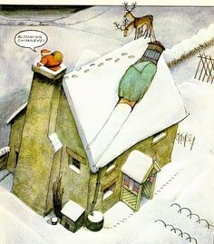 Blooming chimney ! by Raymond Briggs