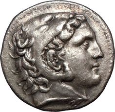 Tetradrachm from Amphipolis, Macedonia, 3rd century BC, showing Alexander the…