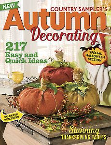 Whimsical Halloween, Halloween Scene, Fall Home Decor, Autumn Home, Country Sampler Magazine, Autumn Decorating, Decorating Ideas, Old Christmas, Thanksgiving Table