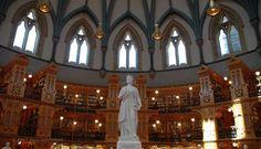 Parlamento Kütüphanesi, Ottawa, Kanada  (Library Canada)