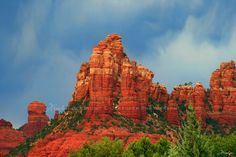 Sedona Red Rocks - Gallery Canvas Art Print