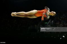 Eythora Thorsdottir of the Netherlands competes on the balance beam during the Artistic Gymnastics Women's Team Final on Day 4 of the Rio 2016 Olympic Games at the Rio Olympic Arena on August 9, 2016 in Rio de Janeiro, Brazil.  (Photo by Lars Baron/Getty Images)