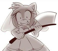 Amy Rose, Sonic Videos, Sonic The Hedgehog, Play Sonic, Sonamy Comic, Shadow And Amy, Sonic And Amy, Sonic Fan Characters, Sonic Fan Art