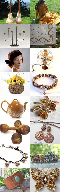 Brown beauties... by Linda on Etsy--Pinned with TreasuryPin.com