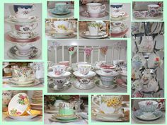 I collect tea cups and saucers