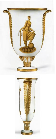 "Gio Ponti, Vase ""Feathered Vase"", 1928 (Erdinç Bakla archive)"
