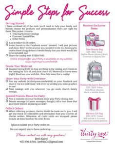 Hostess Info Packet  Thank you so much for having a Catalog Party with me! I am so excited to help you get to $600 in sales so we can DOUBLE your Hostess Credit, giving you a $200 Shopping Spree!!