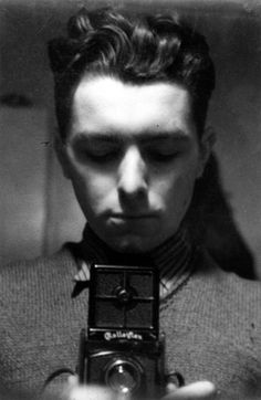 Robert Doisneau, Self-Portrait, 1932 T for tout - http://chagalov.tumblr.com/post/79978203627/robert-doisneau-self-portrait-1932-from