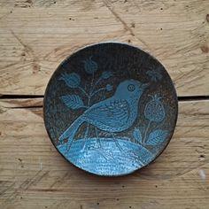 Image of Little Bluebird Plate
