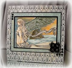 Sea Angel by busysewin - Cards and Paper Crafts at Splitcoaststampers