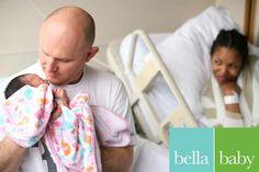 Bella Baby Photography,  Photographer: Jessi Shivers,  #newborn #hospital #lifestyle #family