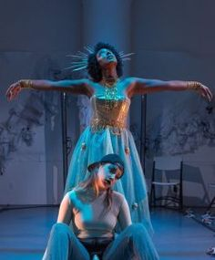 Queer & Now reinterprets the Demeter & Persephone myth in the context of climate change. Shell Oil Company, Ancient Myths, Pop Songs, Persephone, West Africa, Ancient Greece, Blue Fabric, Pop Music, Pop