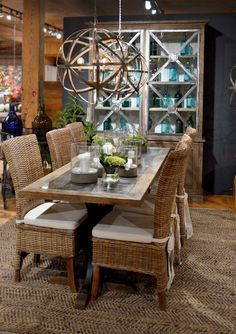 Gorgeous gray lacing almost upstages this elegant table