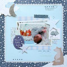 Hush Little Baby **Pebbles DT** - Scrapbook.com