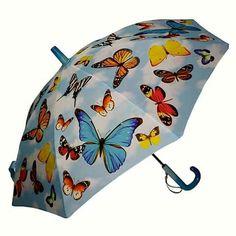Paraguas de mariposas